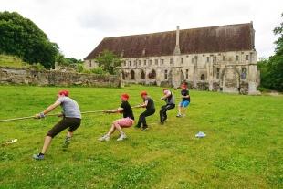 abbaye du Moncel - entreprise- team bulding (2)